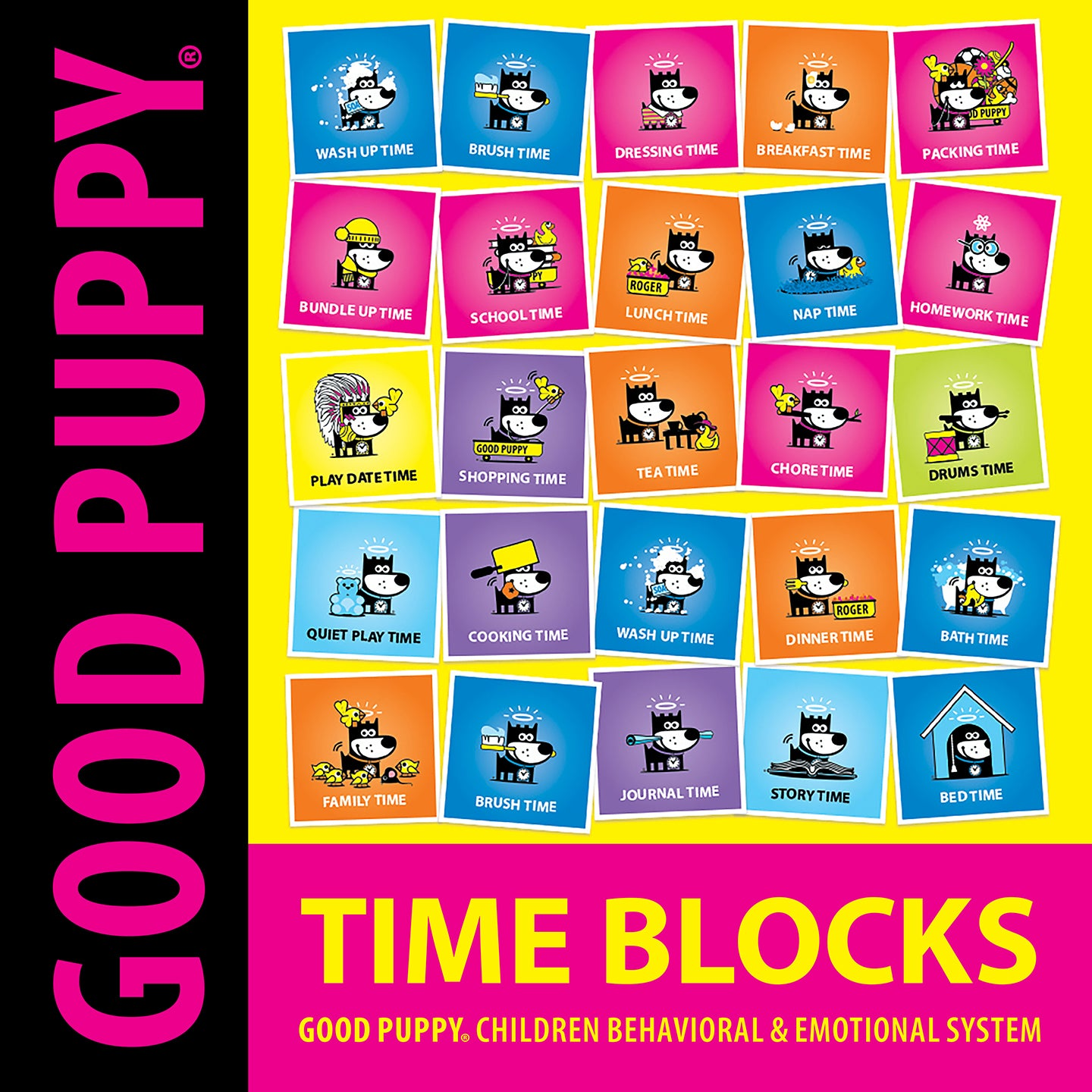 Printable PDF . Time Blocks