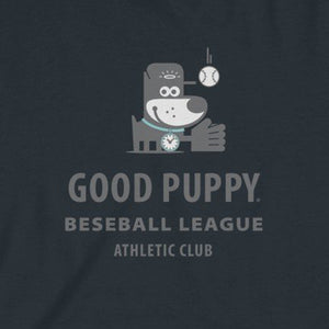Baseball League . Kids Fine Jersey Tee