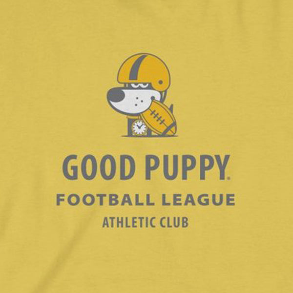 GOOD PUPPY Football League . Kids Fine Jersey Tee