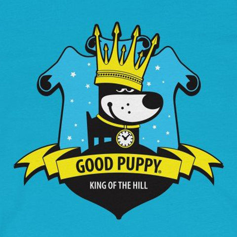 GOOD PUPPY VINTAGE . King Of The Hill . Unisex Jersey Short Sleeve Tee