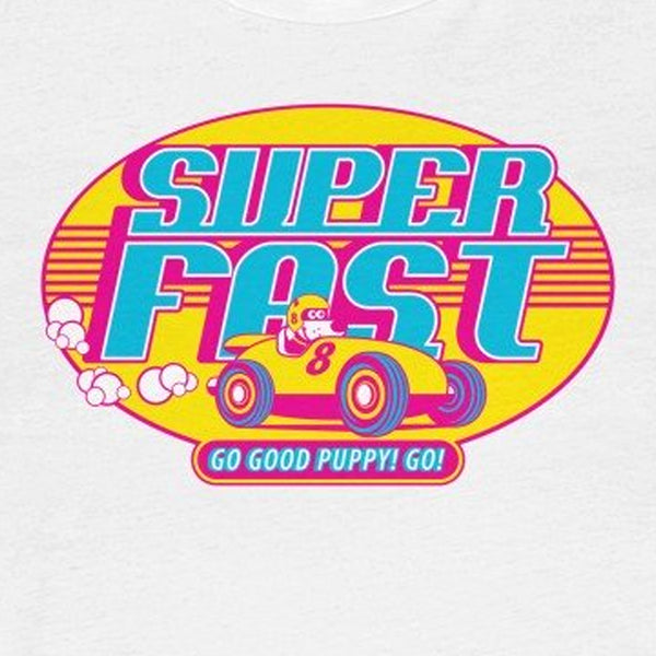 Super Fast . Pop Print . Unisex Cotton Tee
