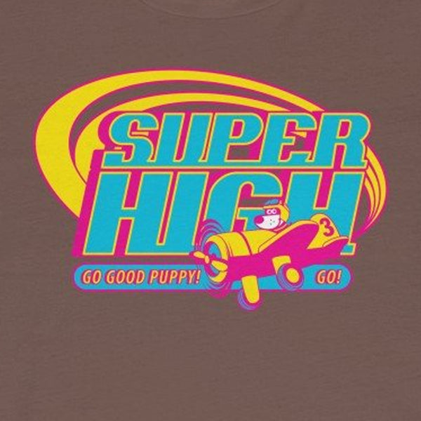 Super High . Pop Print . Unisex Jersey Short Sleeve Tee