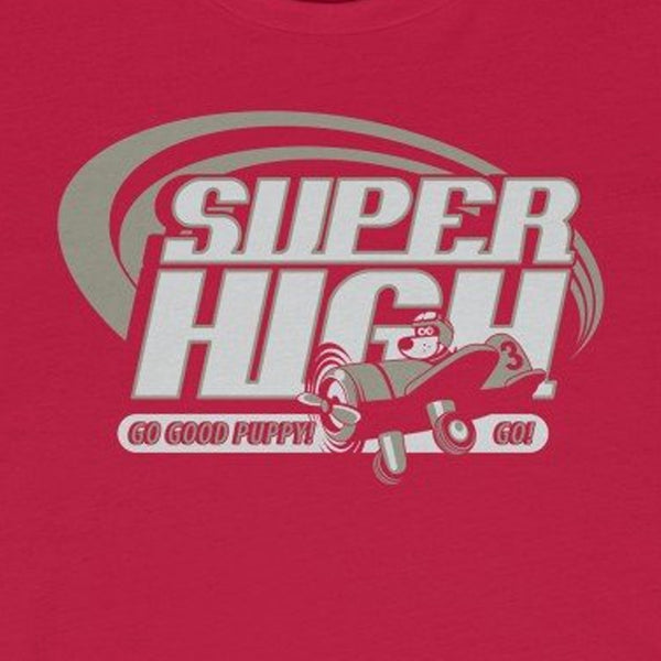 Super High . Gray Print . Unisex Jersey Short Sleeve Tee