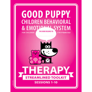 GOOD PUPPY is here to help parents in the management of children's behavior ages 3 to 9.