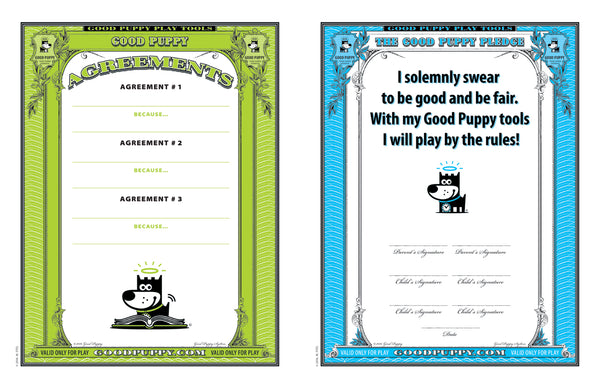 GOOD PUPPY . Printable PDF . THERAPY STREAMLINED TOOLKIT . Sessions 1-10