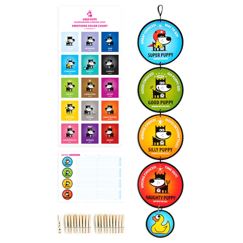 GOOD PUPPY . Pack Hanging Set