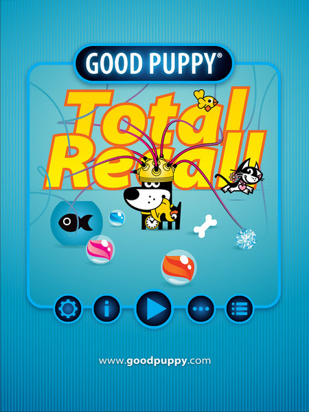 Good Puppy Total Recall . Memory Game