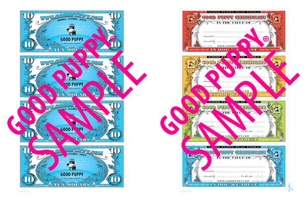 Gift Certificates Child Incentives