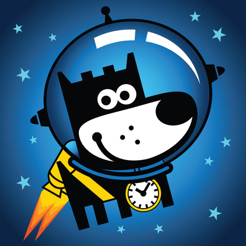 Good Puppy Space Walk . Infinite Run Game