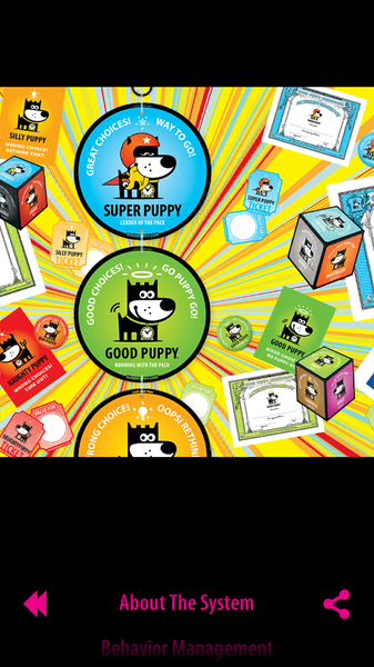 GOOD PUPPY . CHILDREN BEHAVIORAL . The Catalog . App