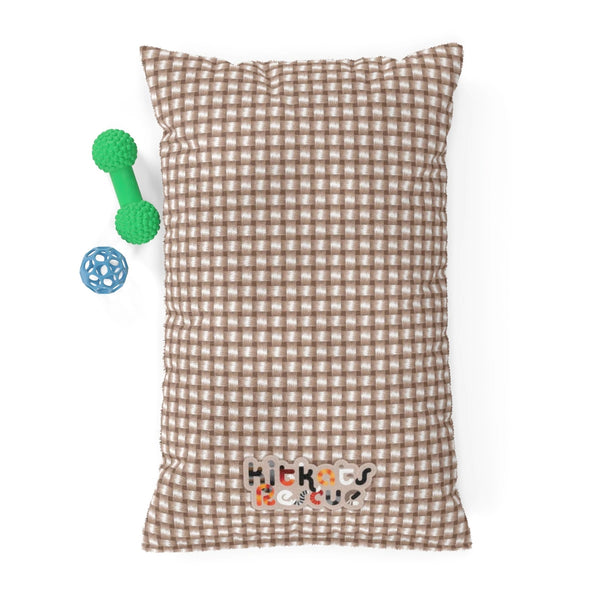 KitKats Rescue . Taupe Weave . Pet Bed