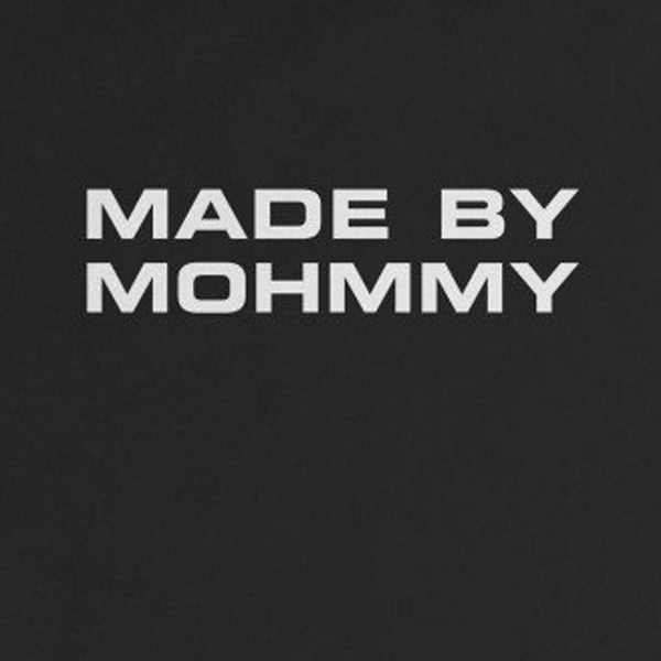MOHMMY . Made By Mohmmy . White Print . Infant Rip Snap Tee