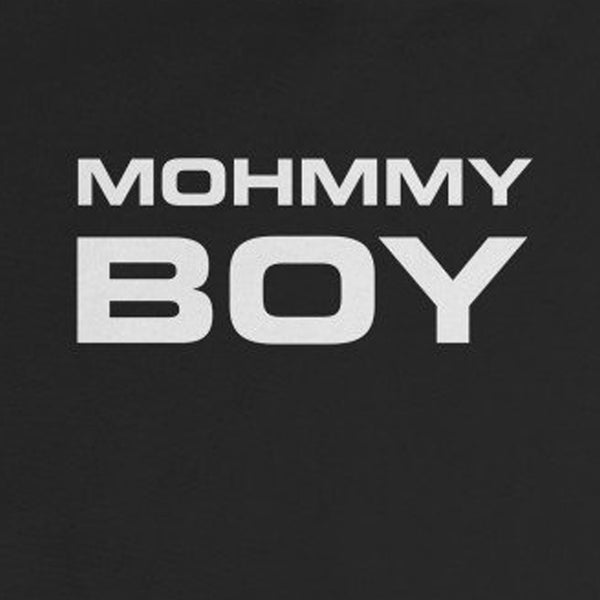 Mohmmy Boy . White Print . Infant Rip Snap Tee