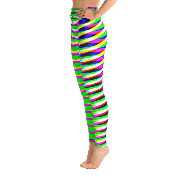 Vibrant Geometric Women's Super Soft Yoga Leggings