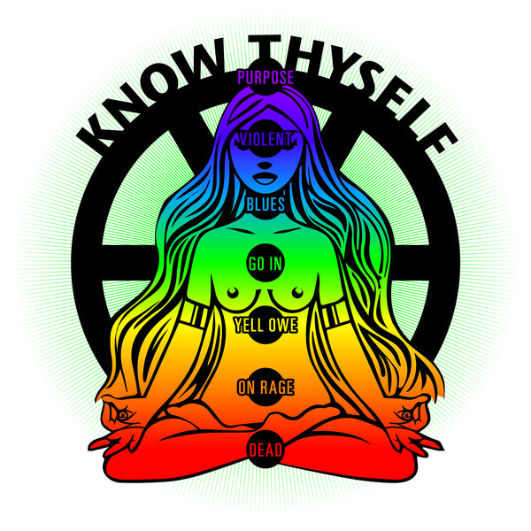 Know Thyself . Unisex Cotton Tee