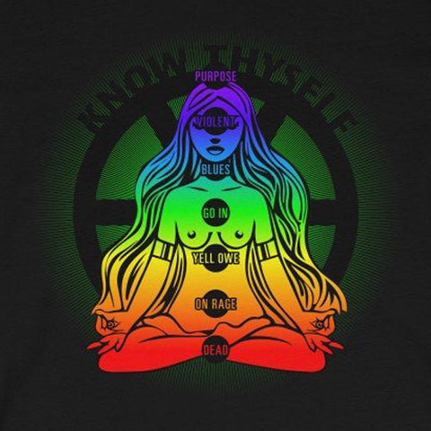 SACRED CLOWNS . Know Thyself . Unisex Jersey Short Sleeve Tee