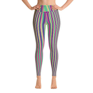 Colorful Geometric Women's Yoga Leggings
