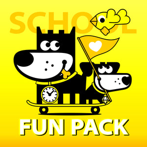 SCHOOL . FUN PACK . GOOD PUPPY Children Behavioral & Emotional System
