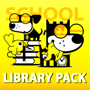 SCHOOL . LIBRARY PACK . GOOD PUPPY Children Behavioral & Emotional System