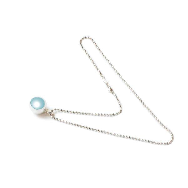 Silver Angel Caller Maternity Chime Ball Necklace
