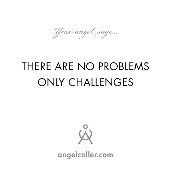There Are No Problems Only Challenges - Divination Book