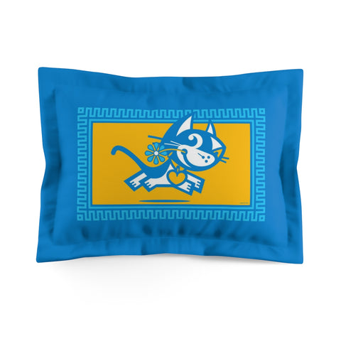 Betty Bad Kitty . Pop I . Kitty . Pillow Sham