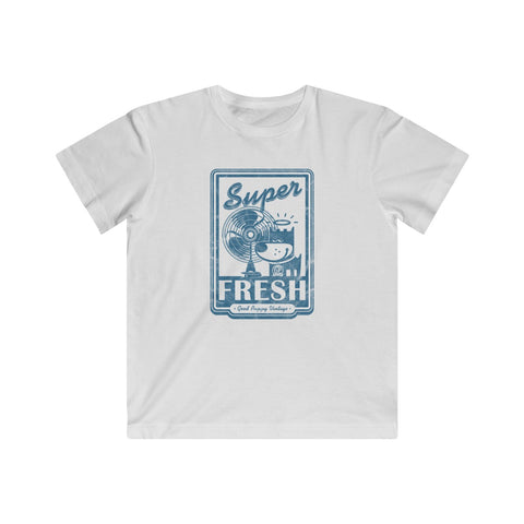 Super Fresh . Blue Print . Kids Fine Jersey Tee