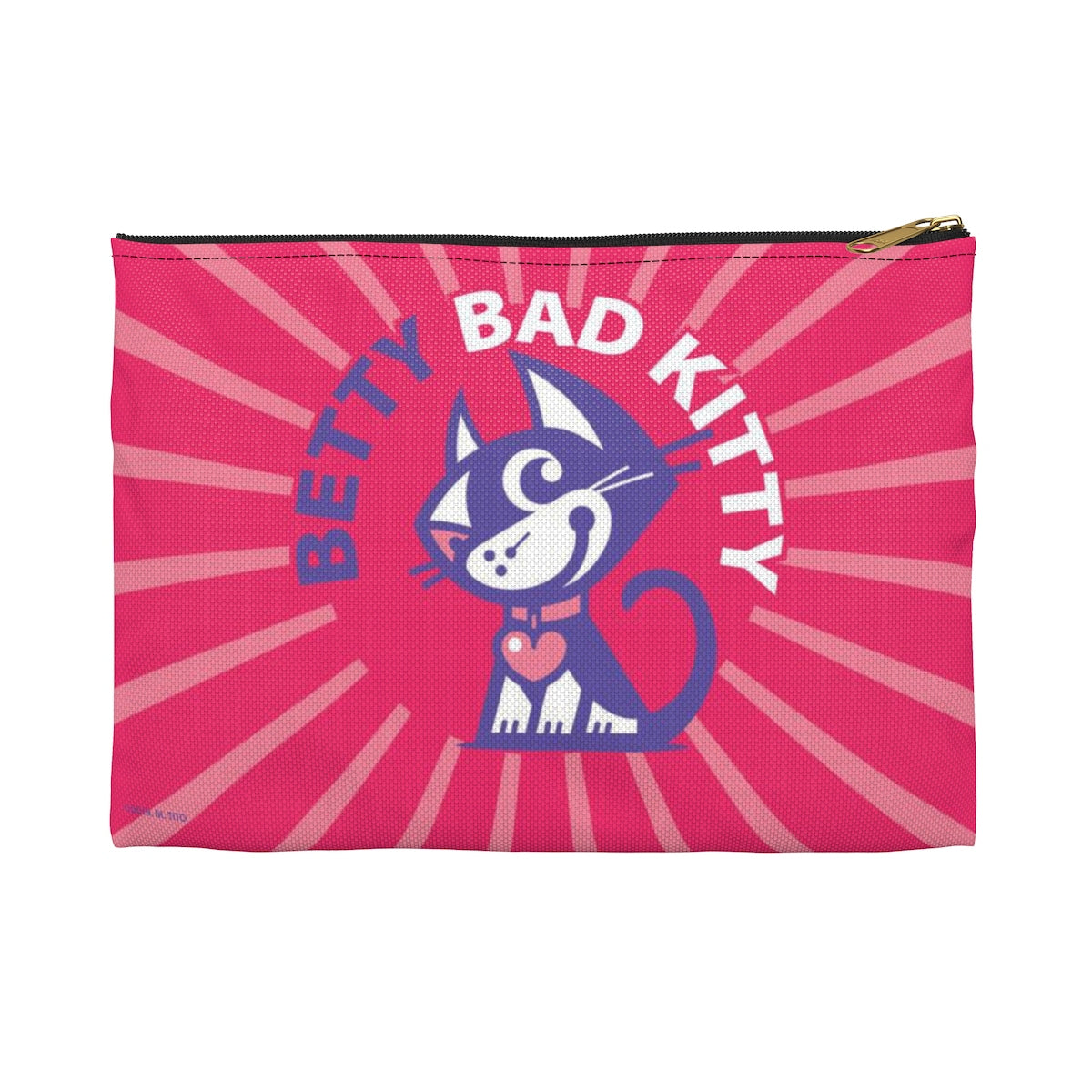 Betty Bad Kitty II . Accessory Pouch