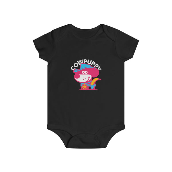 Cow Puppy III . Infant Rip Snap Tee