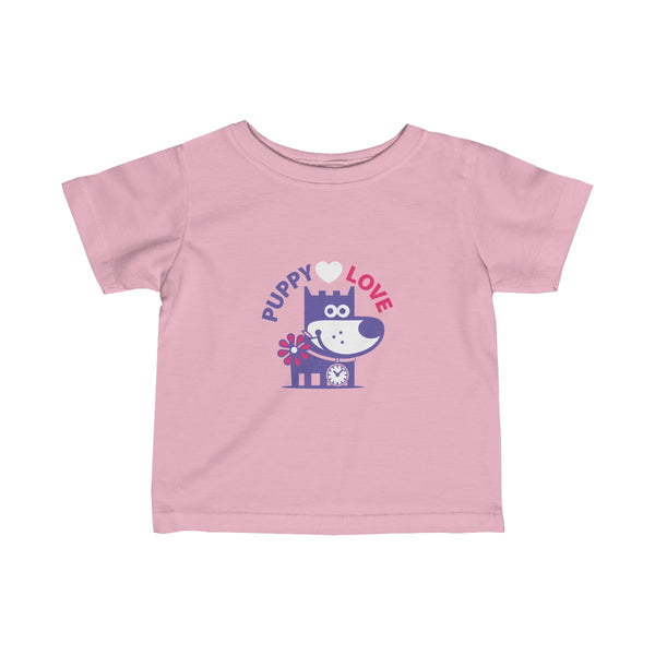 Puppy Love II . Infant Fine Jersey Tee
