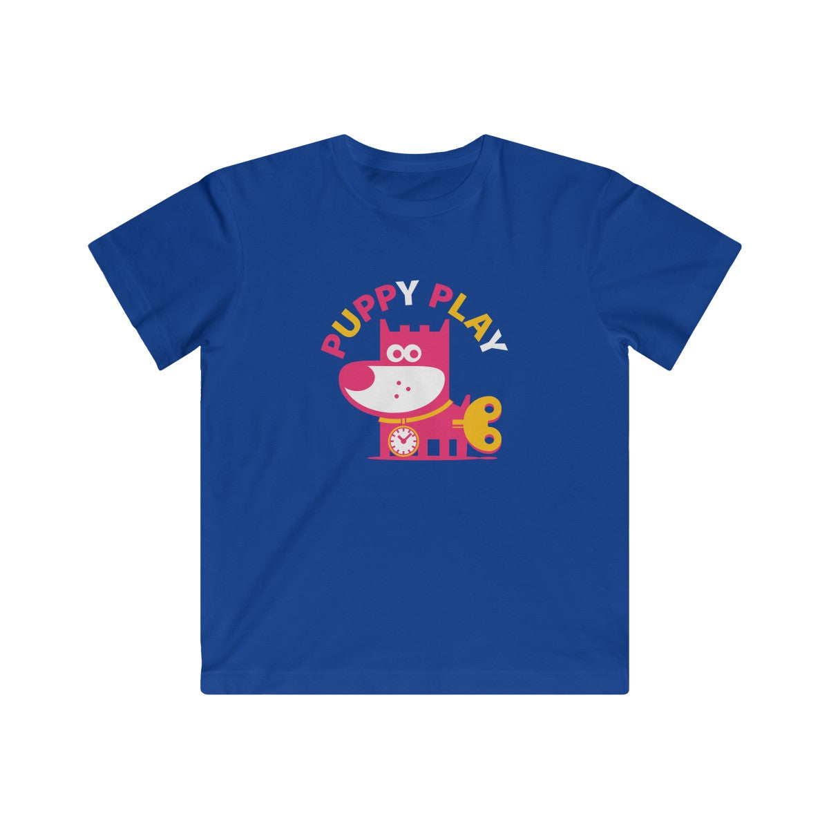 Puppy Play III . Kids Fine Jersey Tee