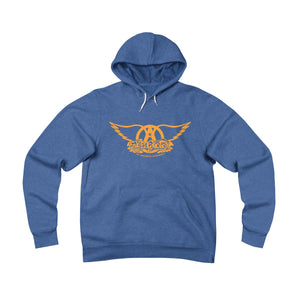 Sweet Emotion . Orange Logo . Unisex Sponge Fleece Pullover Hoodie