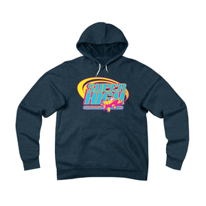 Super High . Pop Print . Unisex Sponge Fleece Pullover Hoodie