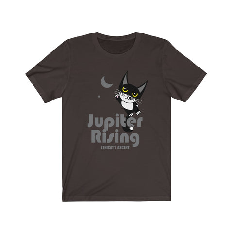 Jupiter Rising IV . Unisex Cotton Tee