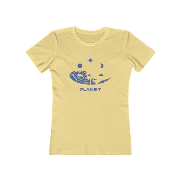 Gifts For Women . Women's The Boyfriend Tee . PLANE-T . Sphere II