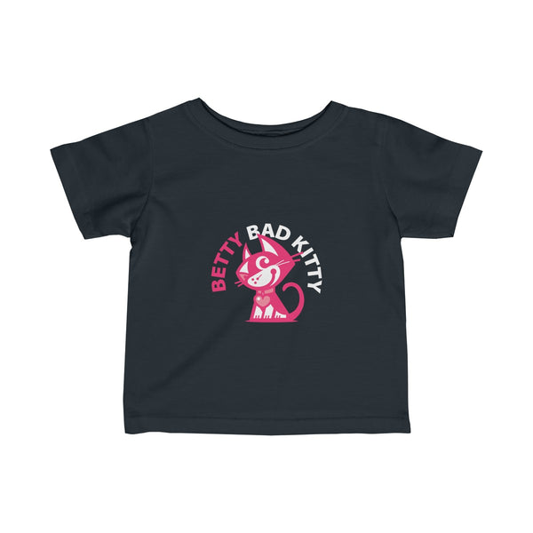 Betty Bad Kitty III . Infant Fine Jersey Tee