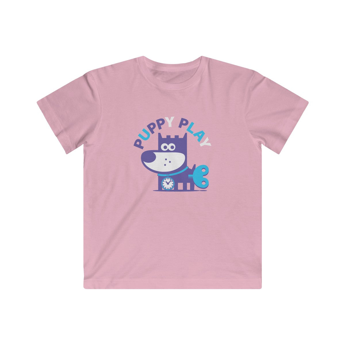 Puppy Play II . Kids Fine Jersey Tee
