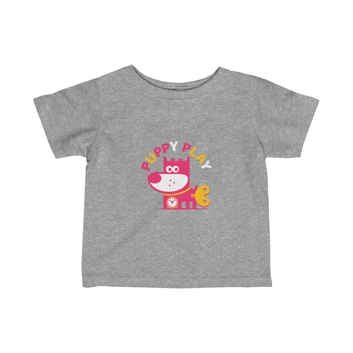 Puppy Play III . Infant Fine Jersey Tee