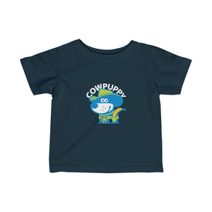 Cow Puppy I . Infant Fine Jersey Tee
