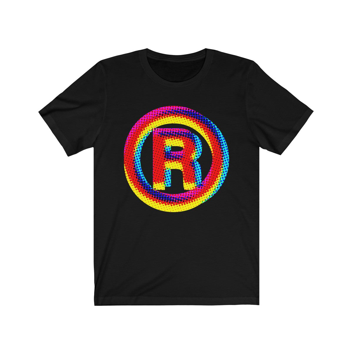 Register Symbol . Unisex Cotton Tee