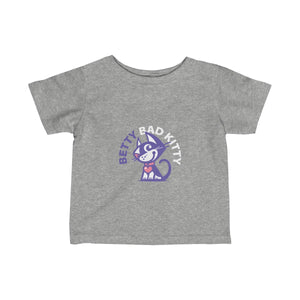 Betty Bad Kitty II . Infant Fine Jersey Tee