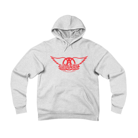 Sweet Emotion . Red Logo . Unisex Sponge Fleece Pullover Hoodie