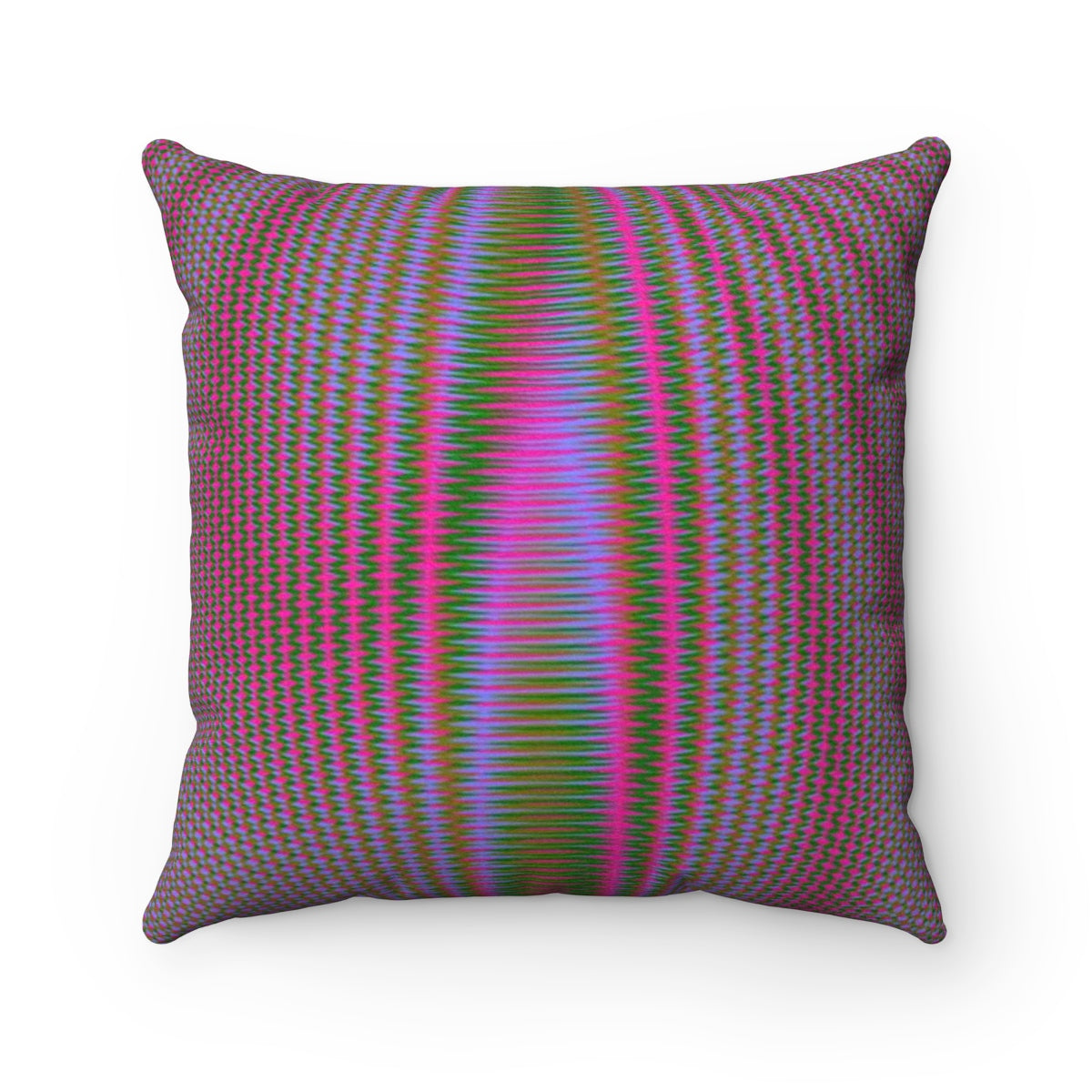 Inner Light VI . Faux Suede Square Pillow
