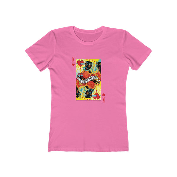 King Of Hearts . Women's Boyfriend Tee