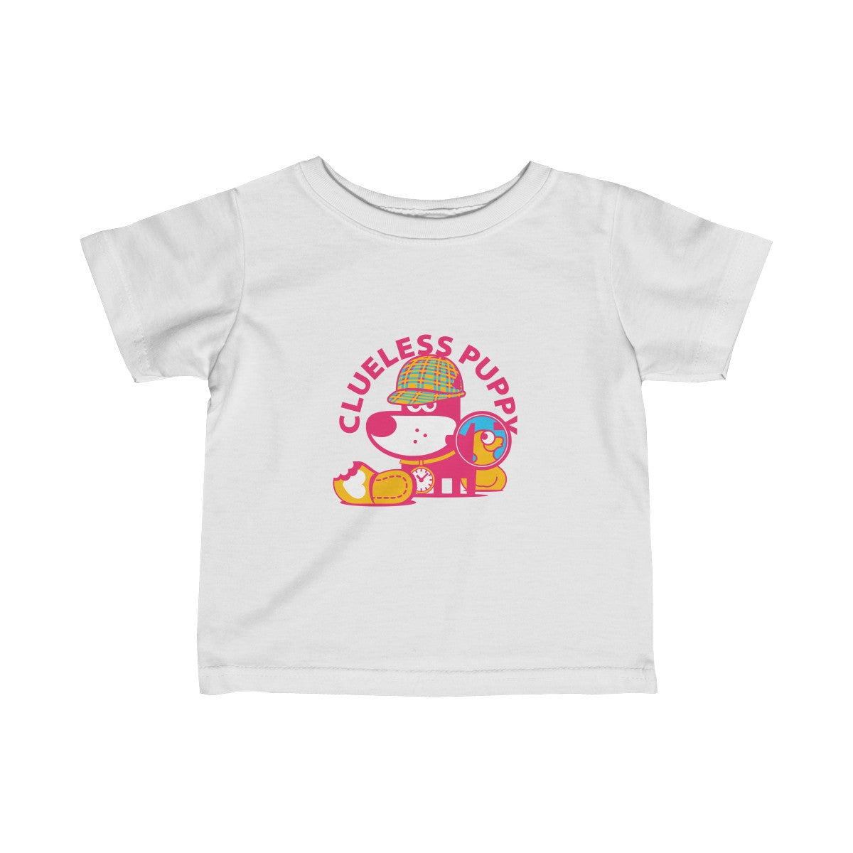 Clueless Puppy III . Infant Fine Jersey Tee