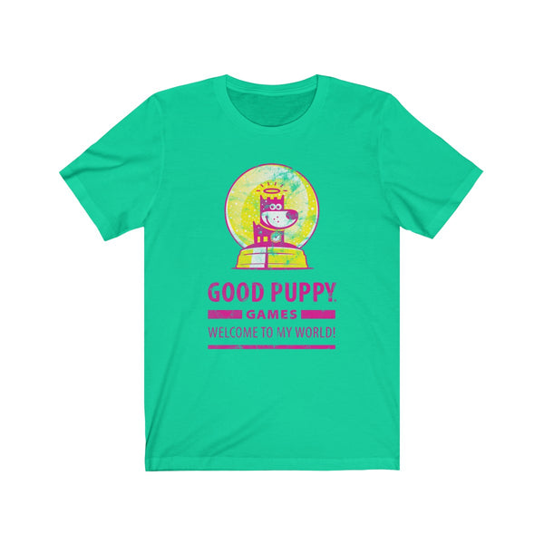 GOOD PUPPY VINTAGE . Games IV . Unisex Jersey Short Sleeve Tee
