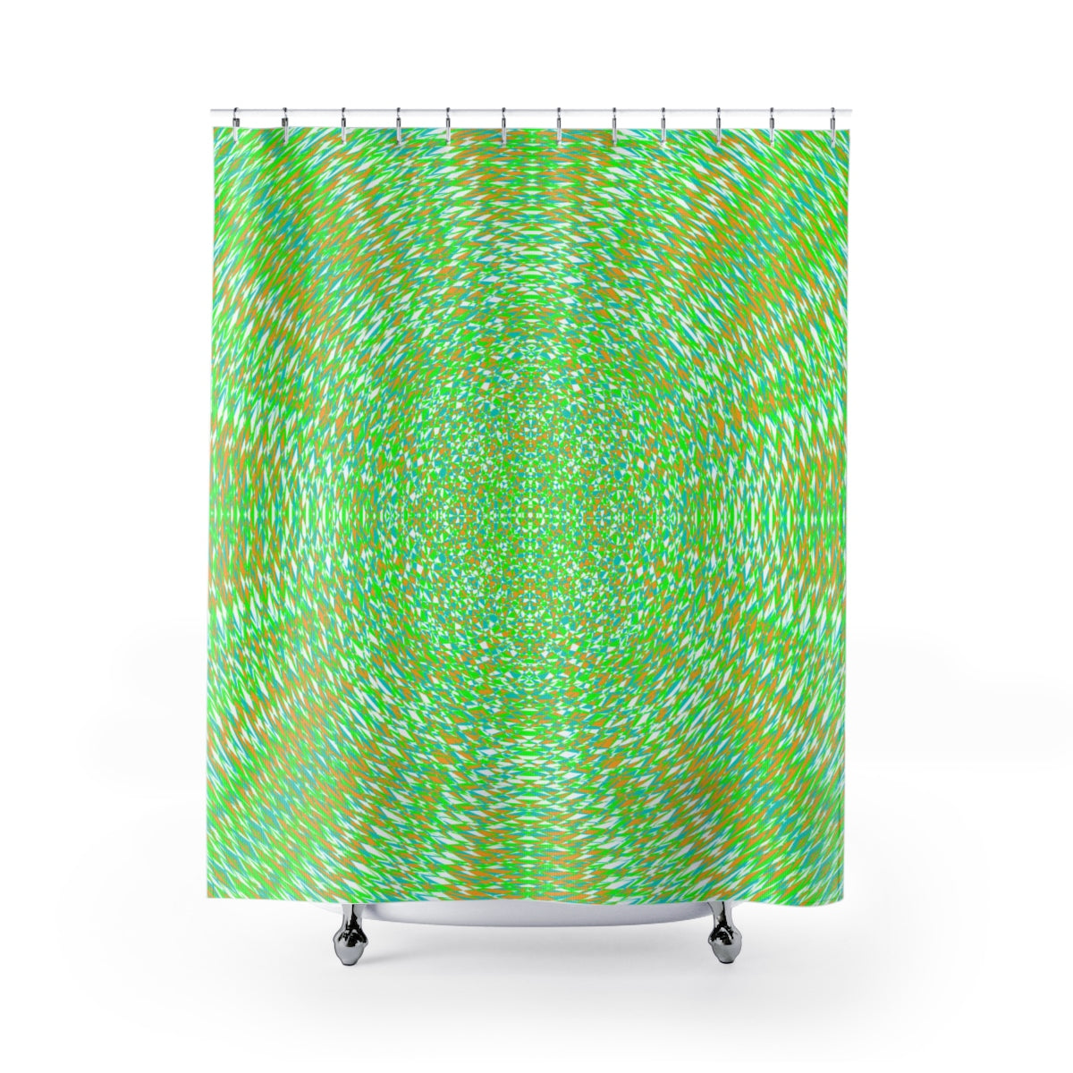 The Navigator's Cross I . Shower Curtains