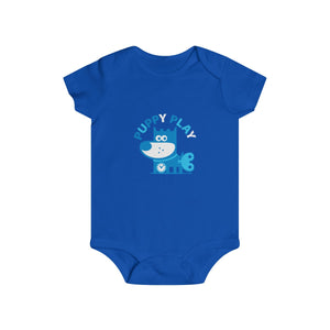 Puppy Play I . Infant Rip Snap Tee