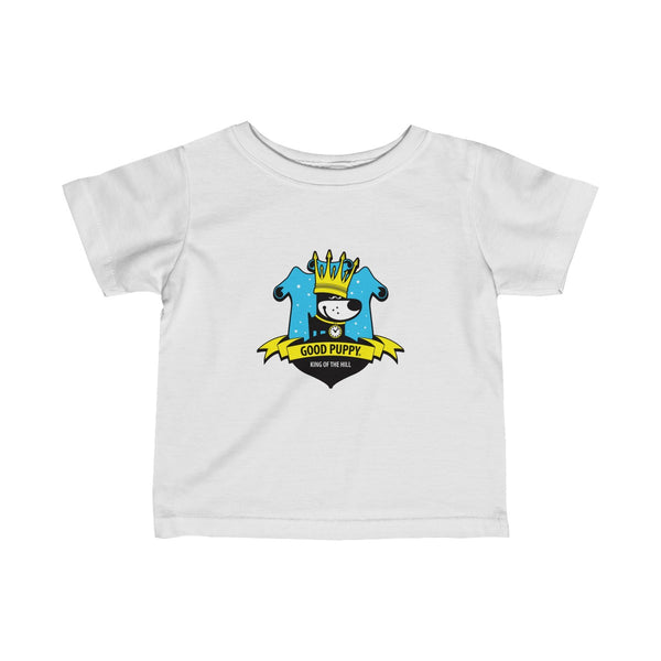GOOD PUPPY King Of The Hill . Infant Fine Jersey Tee