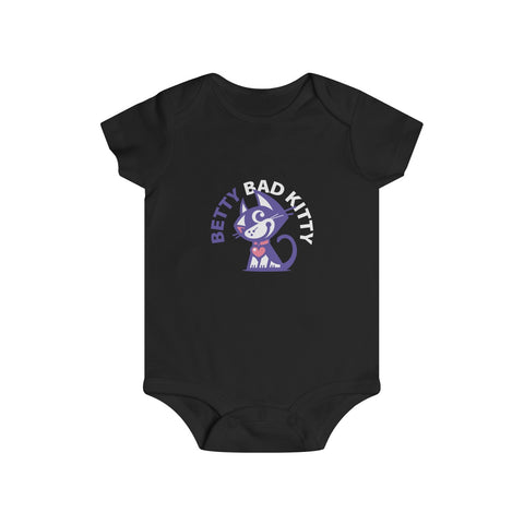 Betty Bad Kitty II . Infant Rip Snap Tee